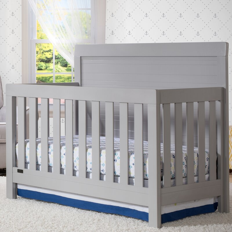 Simmons Kids Rowen SlumberTime 4-in-1 Convertible Crib ...