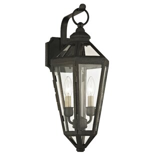 Dhavale 2-Light Outdoor Wall Lantern