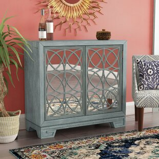 Stevenson Modern Style 2 Door Accent Bar Cabinet with Undertone by Mistana