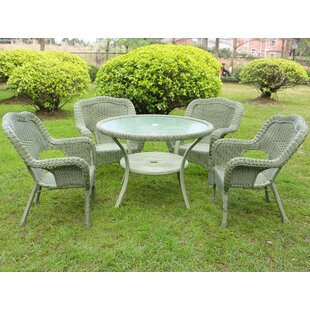 Ovalle 5 Piece Dining Set By August Grove