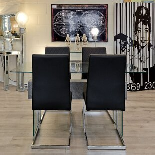 Lola Dining Set With 4 Chairs By Wade Logan