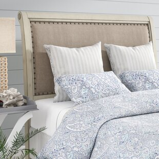 feature Find the perfect Waverley Upholstered Sleigh Headboard By Beachcrest Home