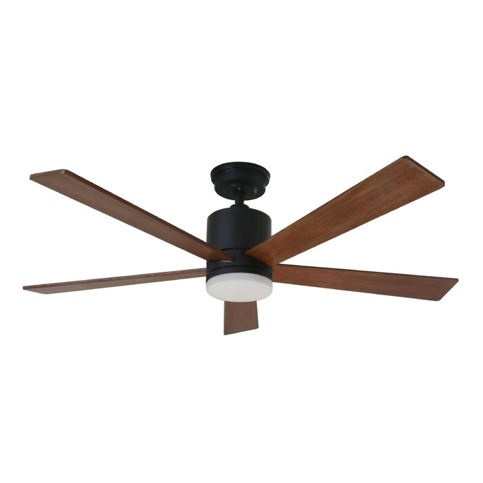 132cm Ridgevale 4 Blade Outdoor Led Ceiling Fan With Remote
