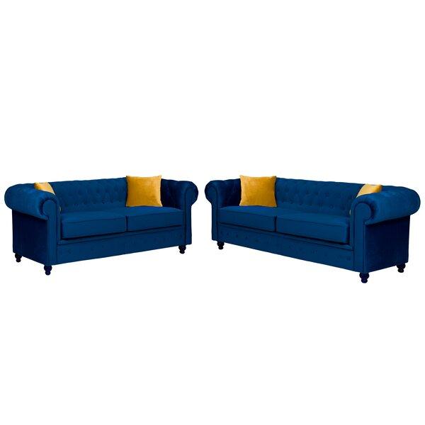 Chesterfield Sofa Set Wayfair Co Uk