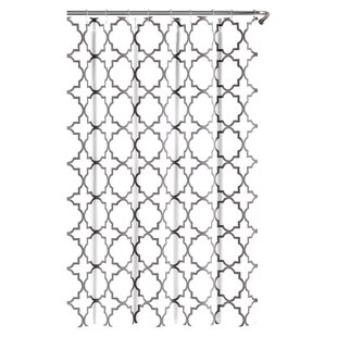 Compare Prattsburgh Cotton Shower Curtain By Three Posts