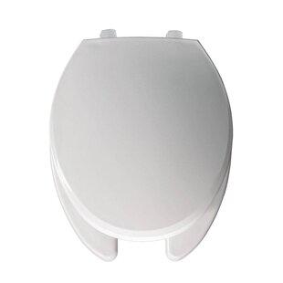 Bemis Just Lift Plastic Elongated Toilet Seat