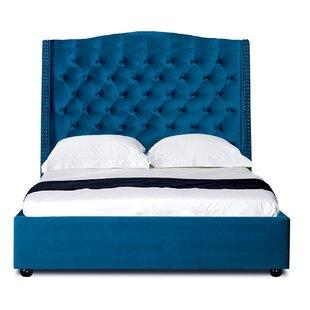 Castellanos Queen Tufted Upholstered Storage Platform Bed by Rosdorf Park