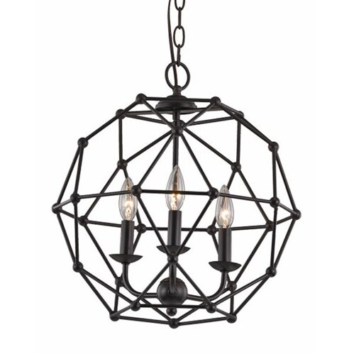 Cavanagh 4 Light Geometric Chandelier Reviews