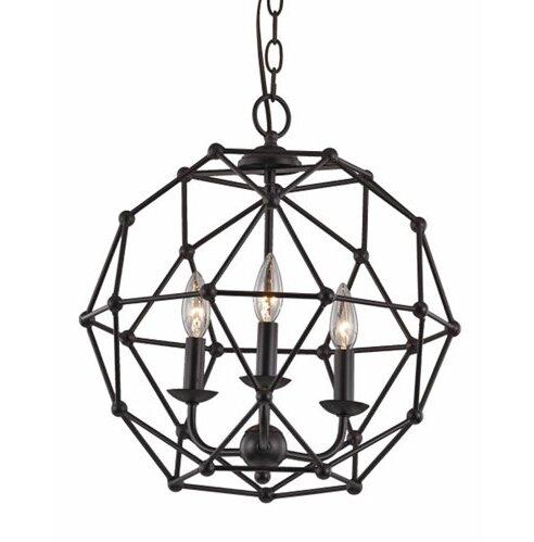 Cavanagh 4 Light Geometric Chandelier Reviews