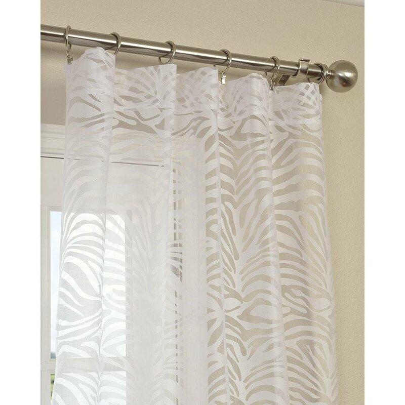 Zara Sheer Curtain Panel