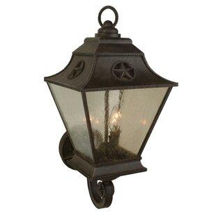 Charlton Home Osmond 3-Light Outdoor Sconce