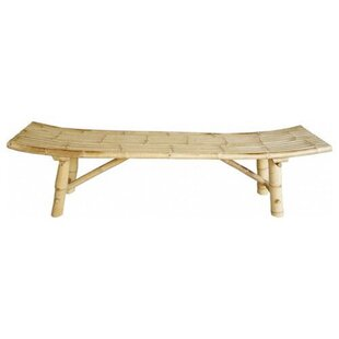 Indigo Wood Bench by Bay Isle Home