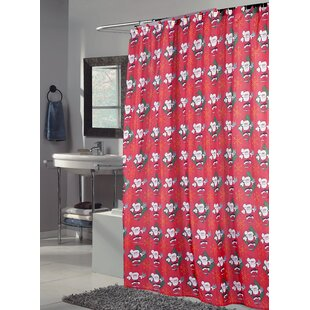 Santa Claus Single Shower Curtain by Ben and Jonah Fresh