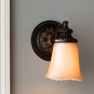Compare Ligonier 1-Light Wall Sconce By Charlton Home