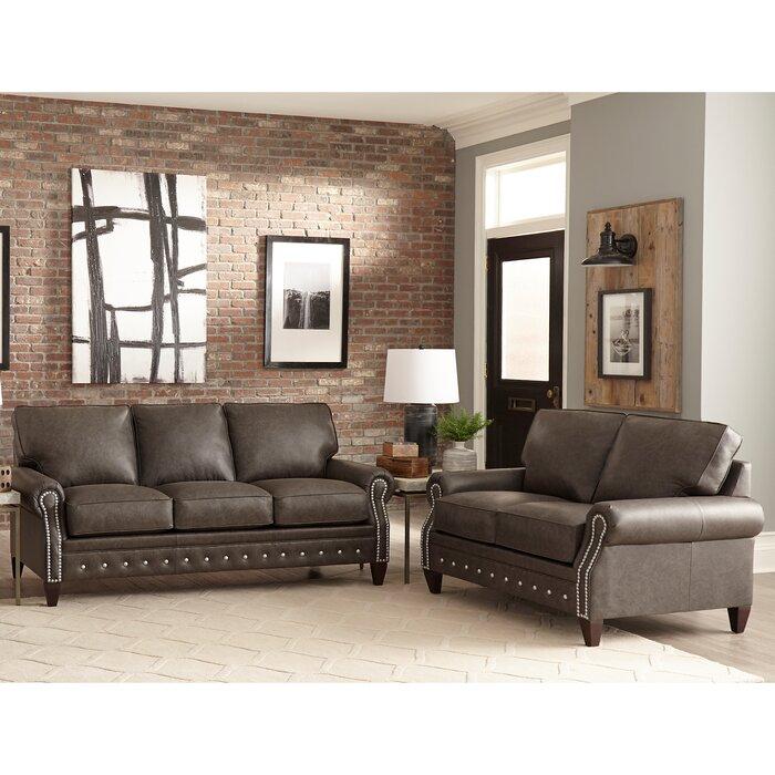 Groovy Jacey 2 Piece Leather Sleeper Living Room Set Machost Co Dining Chair Design Ideas Machostcouk