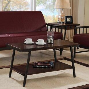 Gracie Oaks Shelbina Coffee Table