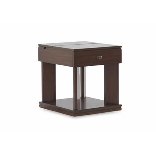 Friedell End Table with Storage by Red Barrel Studio