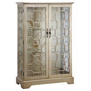 House of Hampton Chantel Lighted Curio Cabinet