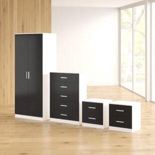 Eva 4 Piece Bedroom Set By Zipcode Design