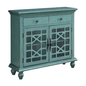 Jean 2 Drawer 2 Door Cabinet