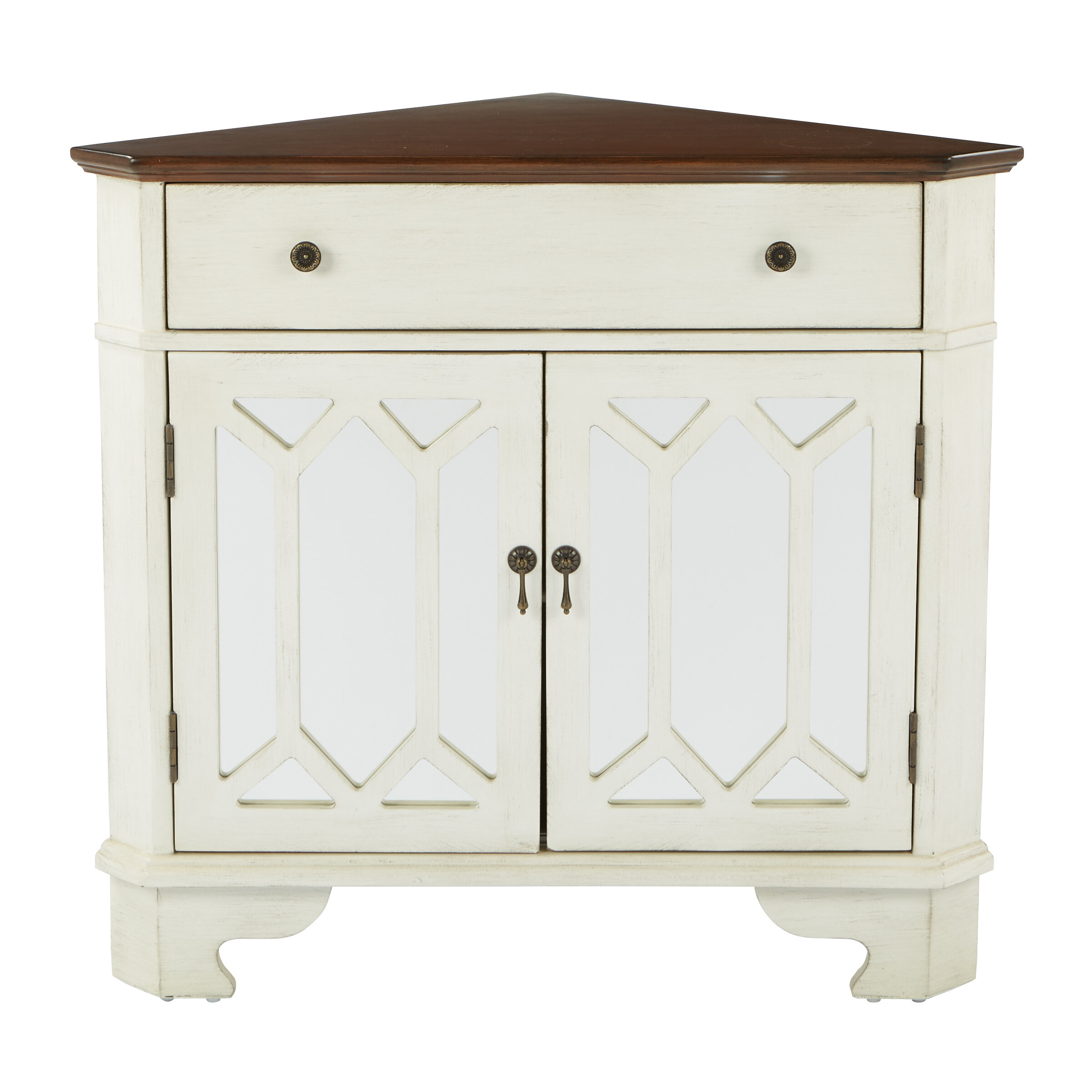 Exceptionnel August Grove Hardyston Corner Storage 1 Drawer 2 Door Accent Cabinet U0026  Reviews | Wayfair