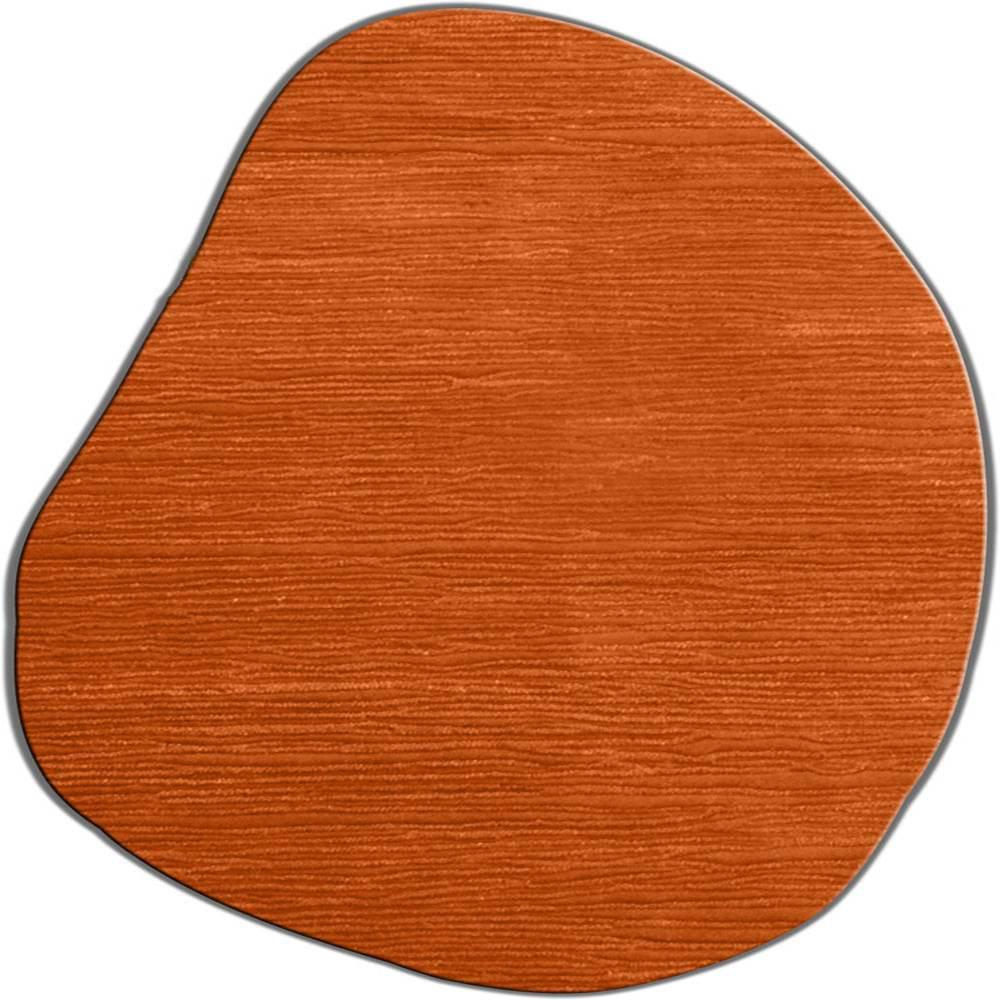 Modern Rugs Flagstone Hand Tufted Wool Tangerine Area Rug Wayfair
