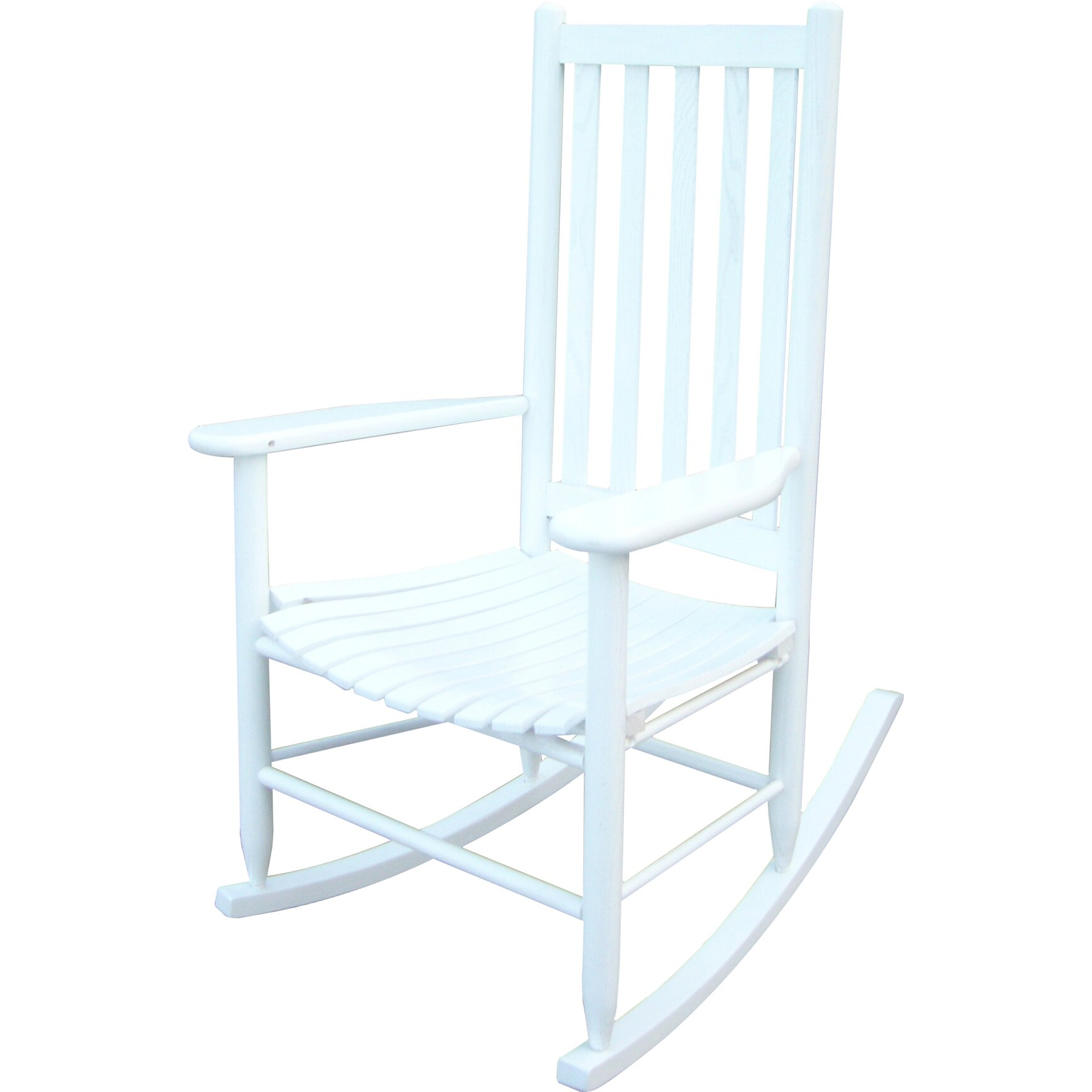 Dixie Seating Hickory Rocking Chair & Reviews  Wayfair
