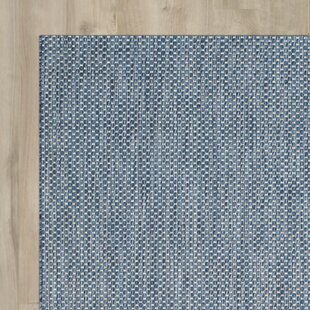 Mullen Navy Bule/Gray Indoor/Outdoor Area Rug