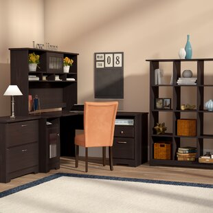 Best Price Hillsdale 4-Piece L-Shape Desk Office Suite By Red Barrel Studio
