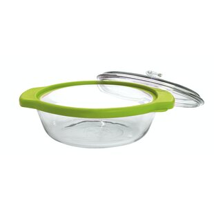 TrueFit Round Casserole Baking Dish with Lid (Set of 9)