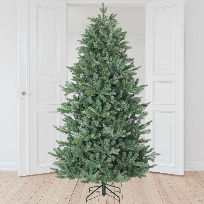 The Holiday Aisle Matterhorn 7 5 Green Fir Artificial Christmas Tree Wayfair