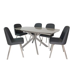 Extendable Dining Set With 2 Chairs By Wade Logan
