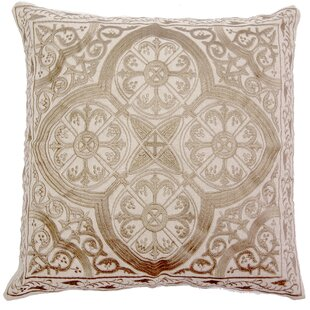 Mchale Quatrefoil Linen Pillow Cover
