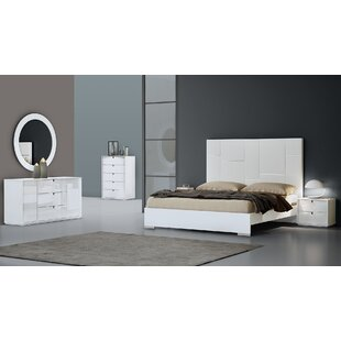 Platform 4 Piece Configurable Bedroom Set by American Eagle International Trading Inc. Comparison