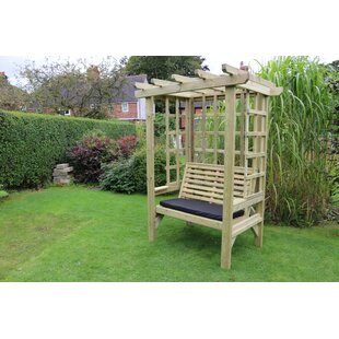 Belville Wooden Arbour By Sol 72 Outdoor