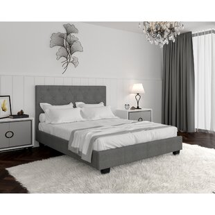 Read Reviews Upholstered Platform Bed by WorldWide HomeFurnishings Reviews (2019) & Buyer's Guide