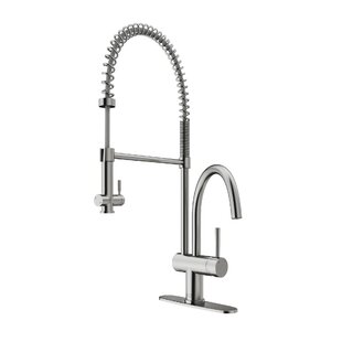 VIGO Dresden Pull Down Single Handle Kitchen Faucet