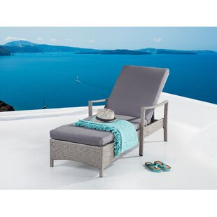 Rosecliff Heights Hawking Patio Chair with Cushion