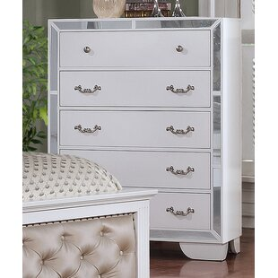 Rosdorf Park Bilboro 5 Drawer Chest Image