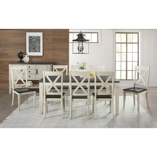 Scales 9 Piece Extendable Solid Wood Dining Set