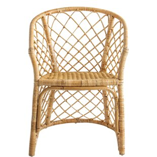 Lainey Handwoven Rattan Armchair by Bay Isle Home