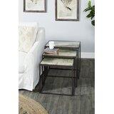 Haleyville 3 Piece Nesting Tables by Fleur De Lis Living