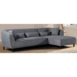 Coney Elegant Modern Sectional (Set of 2) by Brayden Studio