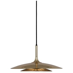 Robert Abbey Axiom 3-Light Cone Pendant