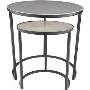 Hiram 2 Piece Nesting Tables