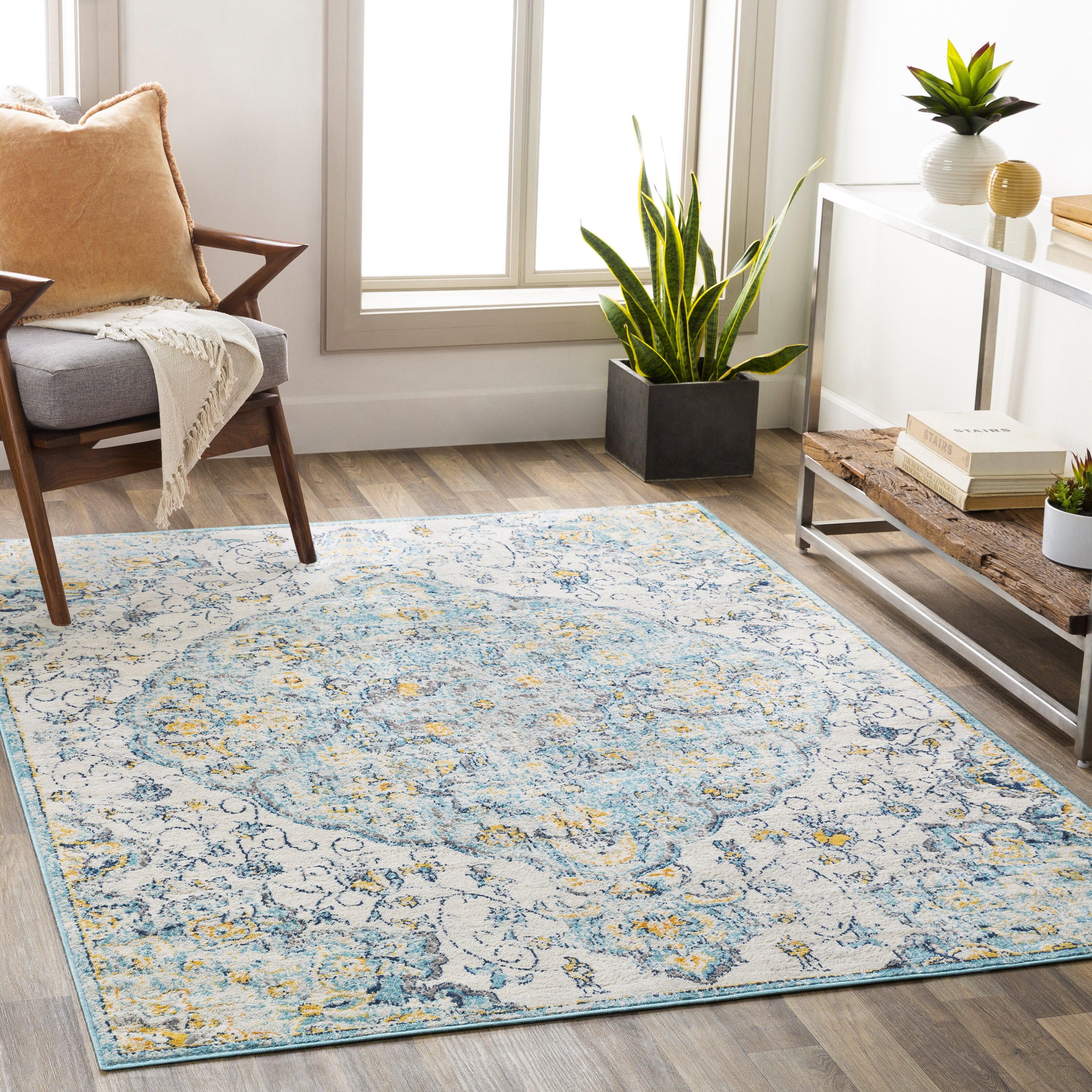 7 X 9 Yellow Gold Area Rugs You Ll Love In 2021 Wayfair