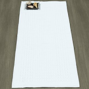 Solomon 100% Cotton Bath Rug by Berrnour Home
