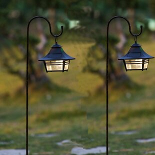 Hanging Solar 1-Light Pathway Light (Set of 2)