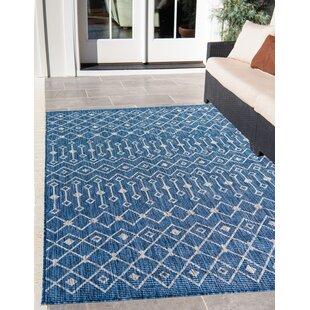 Brylee Blue/Beige Indoor/Outdoor Area Rug