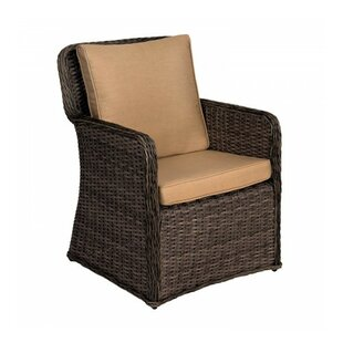 Bay Shore Patio Dining Chair with Cushion